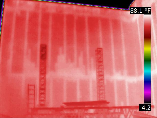Infrared Dry Wall Scan